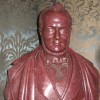 An Egyptian Porphyry bust of Cavour
