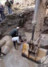 """BUFALE ARCHEOLOGICHE dal Giornale dell'Arte Giugno 2017 """"Archeologi con ruspa"""""""
