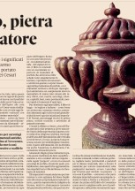 "Review of ""Porphyry"" by Marco Carminati in the Sunday supplement of the  newspaper 'Il Sole 24 Ore'"