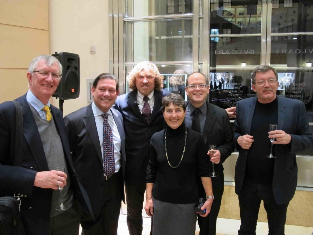 5 da sinistra Charles Little Dir Dip Medievale MET, Carlos Picon Dir Antiq. MET, Dario Del Bufalo, Frieda Nussberger, Bob Haber, Claude Abdalla