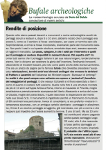 """BUFALE ARCHEOLOGICHE""…. New Archaeological Commentary column in Il Giornale dell'Arte"