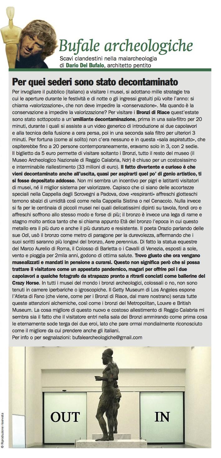 Bufale_Archeologiche_Ottobre_2014_Dario_Del_Bufalo_Bronzi_di_Riace