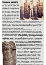 """BUFALE ARCHEOLOGICHE"" Column in Il Giornale dell'Arte – November 2014"