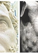 """BUFALE ARCHEOLOGICHE dal Giornale dell'Arte Dicembre 2014 """"Il Valzer degli spatinatori"""""""