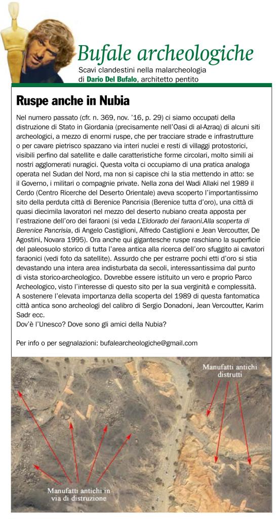 bufale-archeologiche-giornale-dellarte-dario-del-bufalo-dicembre-2016