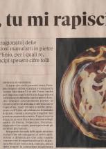 """Recensione di """"Murrina Vasa"""" a cura di Marco Carminati sul domenicale del Sole24Ore"""