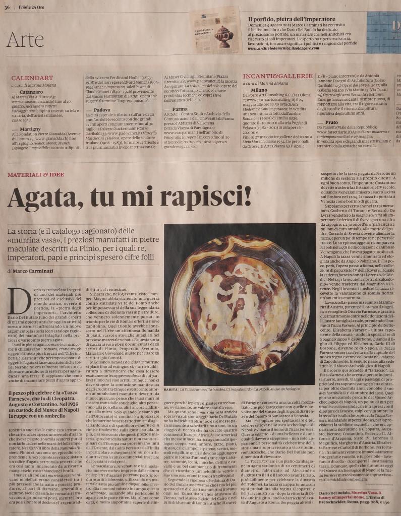 Murrina Vasa Marco Carminati Dario Del Bufalo sole24ore