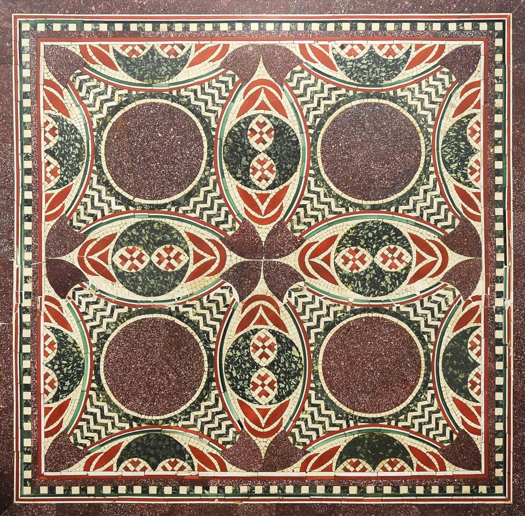 Ritrovato Mosaico delle Navi di Nemi ndario Del Bufalo New York Giornale dell'arte