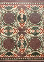 """BUFALE ARCHEOLOGICHE dal Giornale dell'Arte Novembre 2017 Ritrovato a New York grazie a """"Porphyry"""" il Mosaico delle Navi di Caligola"""