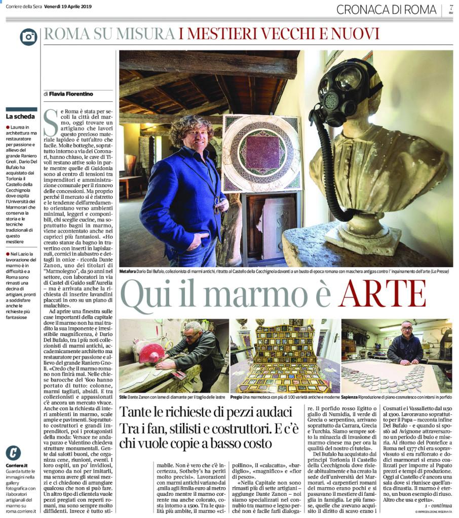 Corriere della Sera 19 Aprile 2019